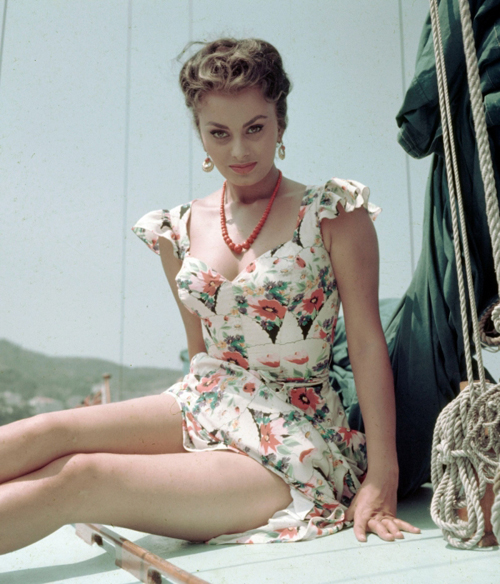 Sophia Loren in the 1950s-60s (1)