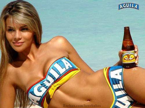 aguila-beer-girl