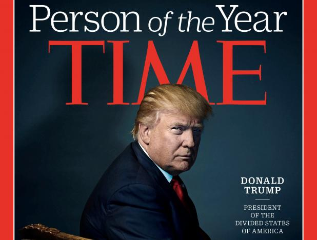 U.S. President-elect Donald Trump poses for photographer Nadav Kander for the cover of Time Magazine after being named its person of the year, in a picture provided by the publication in New York December 7, 2016. Time Magazine/Handout via REUTERS