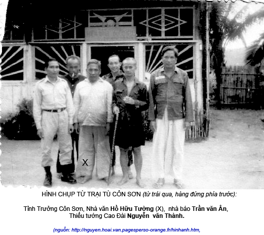 Ho Huu Tuonh trong tu